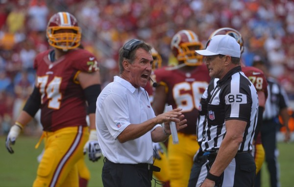 Mike Shanahan e1379939608835 Washington Redskins   Defense on Pace to be the Worst Ever