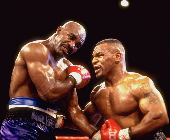 Mike Tyson vs Evander Holyfield e1379772949705 Most Watched PPV Fights in Boxing History