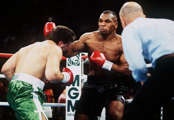 Mike Tyson vs. Peter McNeeley e1379772691563 Most Watched PPV Fights in Boxing History
