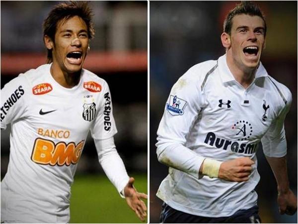 Neymar, Gareth Bale