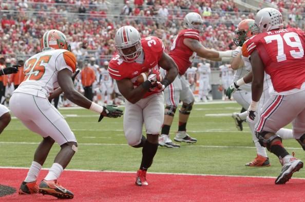 Ohio State Touchdown