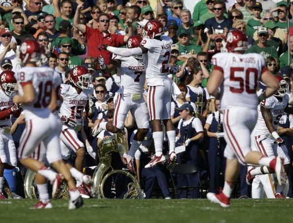 Oklahoma Touchdown vs Notre Dame