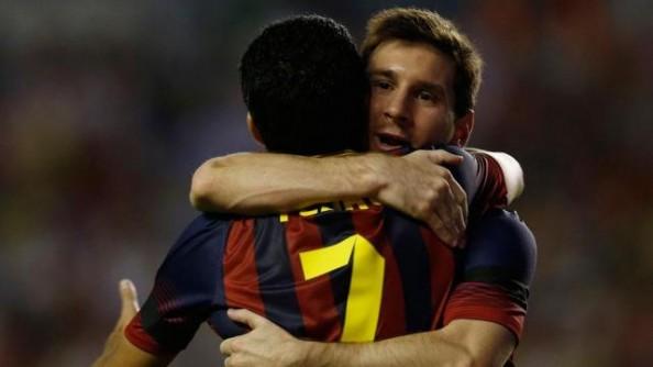 Pedro, Messi