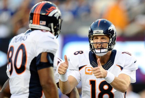 Peyton Manning Thumbs Up