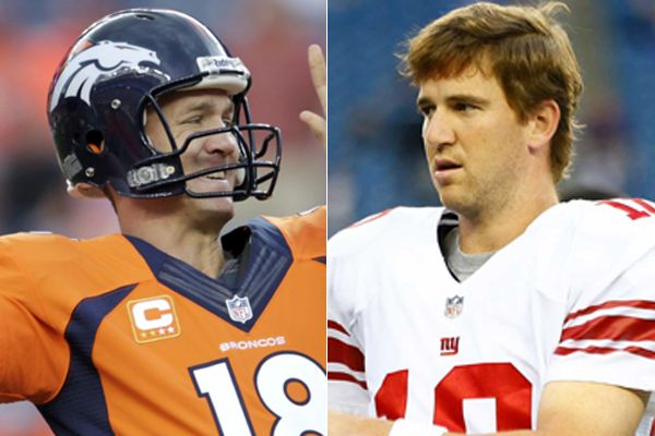 Peyton vs Eli