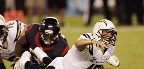 San Diego Chargers   Philip Rivers Cant Handle Fourth Quarter Pressure