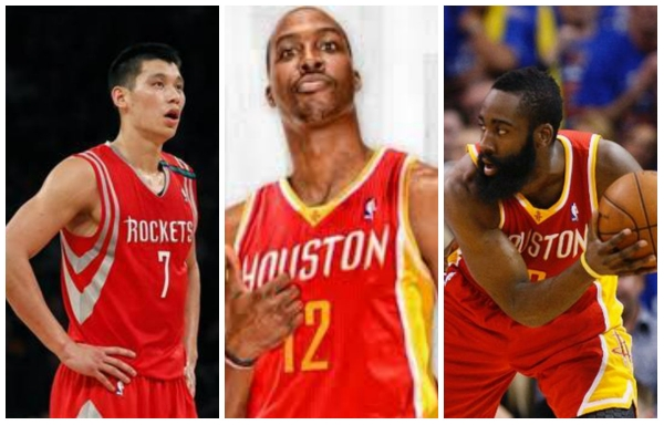 Rockets Big Three