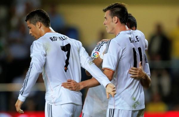 Ronaldo, Bale, Real Madrid