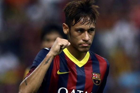 Sweaty Neymar