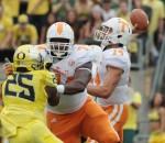 NCAA Football: Tennessee at Oregon
