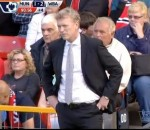 Worried David Moyes