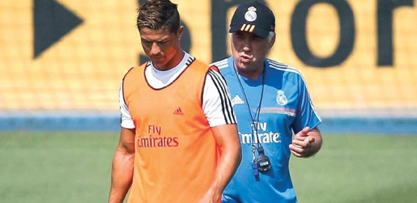 Ancelotti, Ronaldo