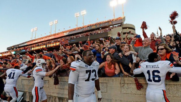 With their win over Texas A&M, Auburn are now 6-1 this season, including 3-1 in the SEC.