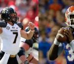 Both Florida with Tyler Murphy and Missouri with Matt Mauk will be starting backup quarterbacks in their SEC showdown.