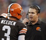 The Browns have been outscored 55-3 by opponents in the second half when Brandon Weeden is their starter.