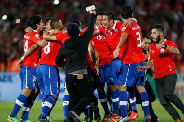 Chile Ecuador 2-1