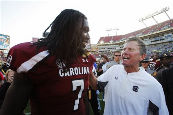 Clowney, Spurrier