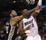 Dwyane Wade scored 25 points in a 121-96 win for the Miami Heat over the San Antonio Spurs.