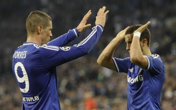 Eden Hazard, Fernando Torres