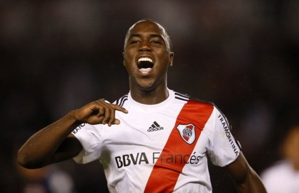 Balanta was part of the River Plate U-20 side that won the Copa Libertadores recently
