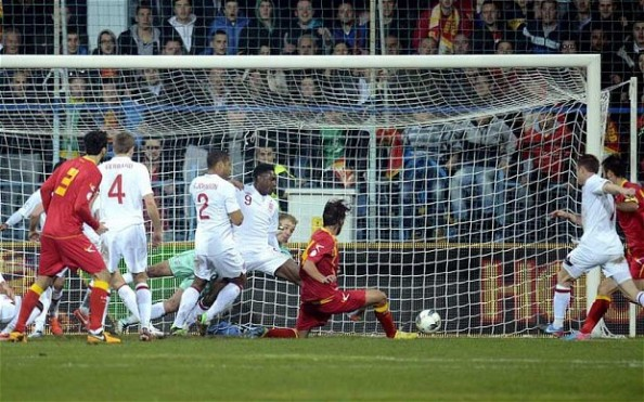 England vs Montenegro