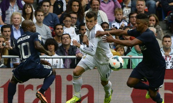Gareth Bale didn't do much in the 14 minutes he was on the pitch for Real Madrid.