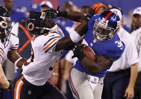 Giants vs Bears
