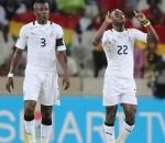 Ghana stunned Egypt with a 6-1 win; Asamoah Gyan scored twice