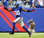 Hakeem Nicks has caught 46 passes for 442 yards and 0 touchdowns so far this season, playing in 5 games for the New York Giatns