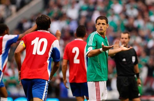Like in many matches this campaign, Mexico couldn't score against Costa Rica when the two teams first met in the qualifying group.