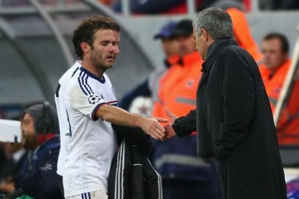 Juan Mata, Jose Mourinho