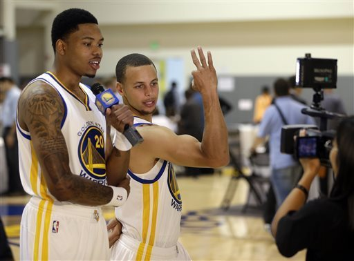 Kent Bazemore, Curry