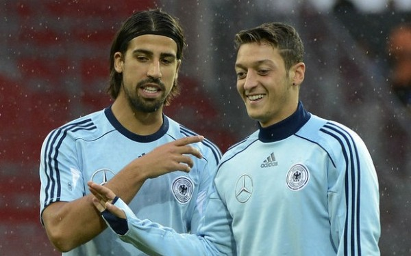 Sami Khedira remains the only German playing for Real Madrid after Mesut Ozil was sold to Arsenal.