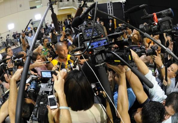 Kobe Bryant Media Day