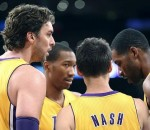 Lakers Huddle