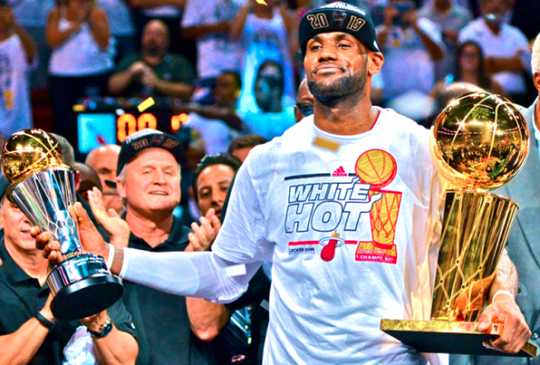 After two NBA titles with the Miami Heat, not to mention two Finals MVP awards and four more in the regular season, there's no reason to bring up the clutch issue regarding LeBron James