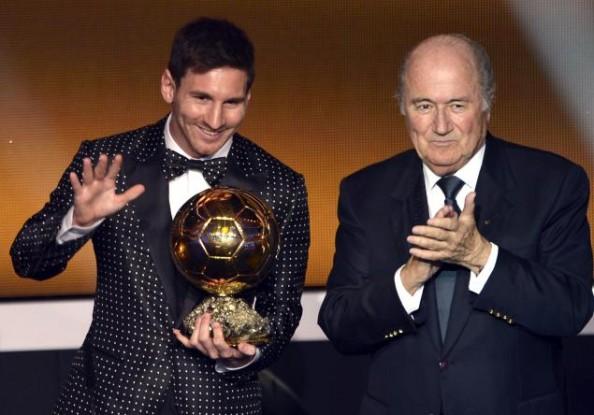 Messi, Blatter