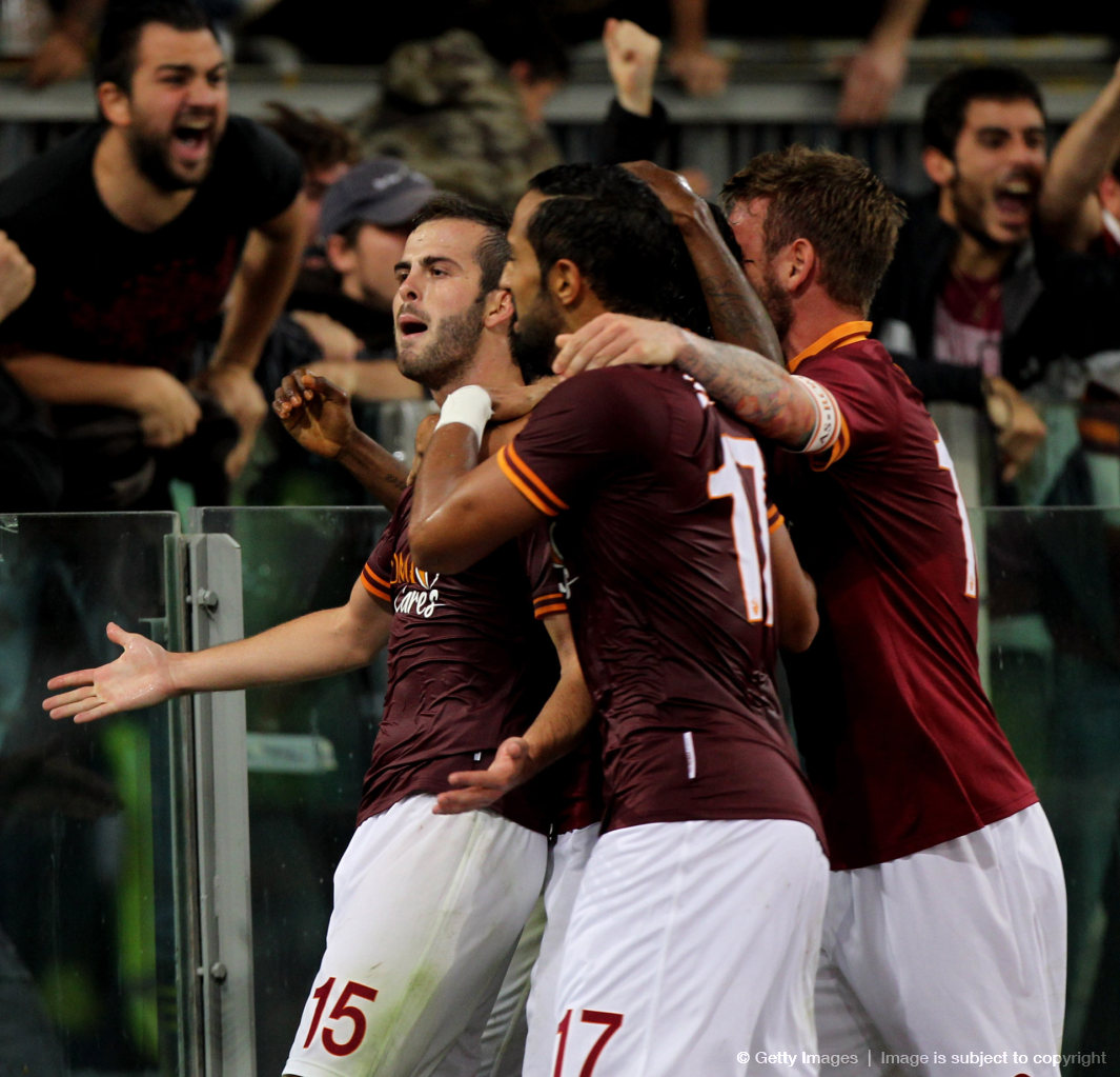 AS Roma are now perfect with 24 points, conceding only one goal so far this season