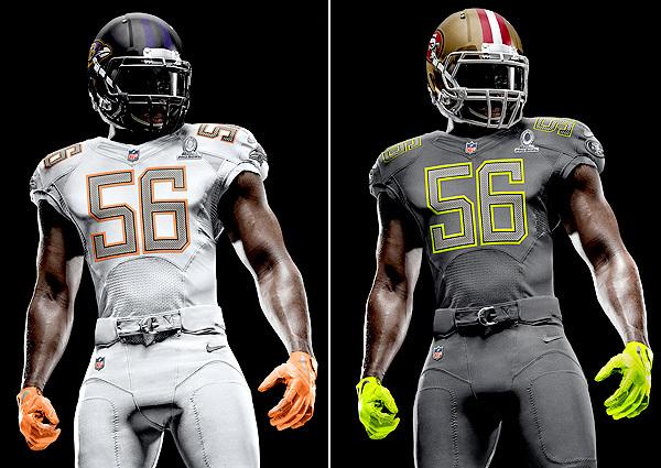 New Pro Bowl Uniforms