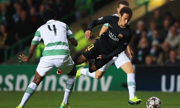 Neymar Flaying