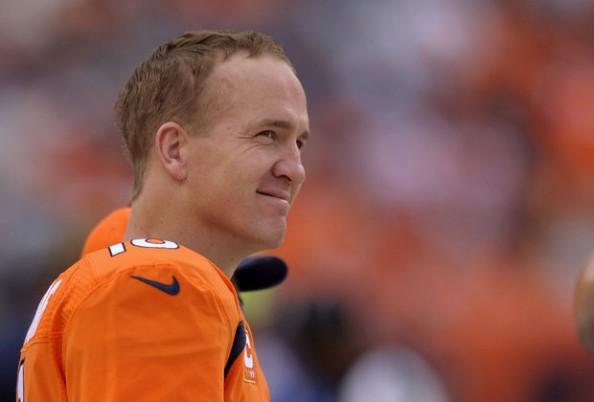 Peyton Manning Smiling