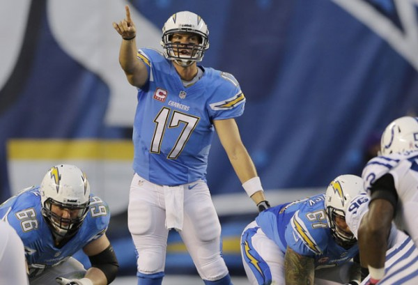 Philip Rivers led the San Diego Chargers to a 19-9 win over the Indianapolis Colts, completing 22-of-33 passes for 237 yards and a touchdown