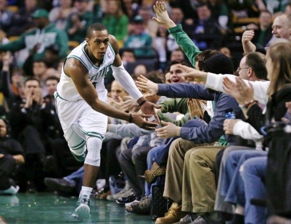 Rajon Rondo has helped the Boston Celtics reach six consecutive playoffs, but he didn't play in their most recent postseason series, staying out with an injury.