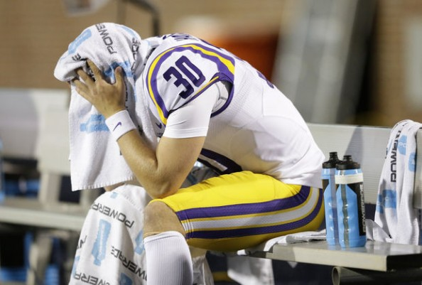 With a second loss this season, the LSU Tigers don't seem good enough to challenge Alabama in the SEC West.