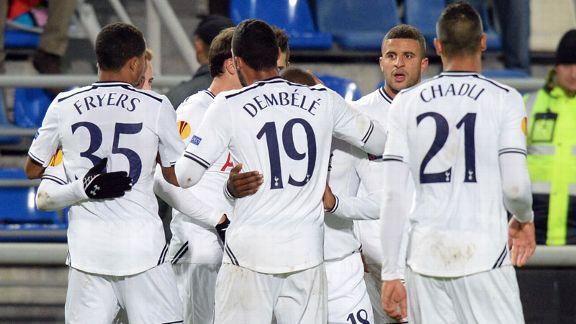 Spurs Win Europa League