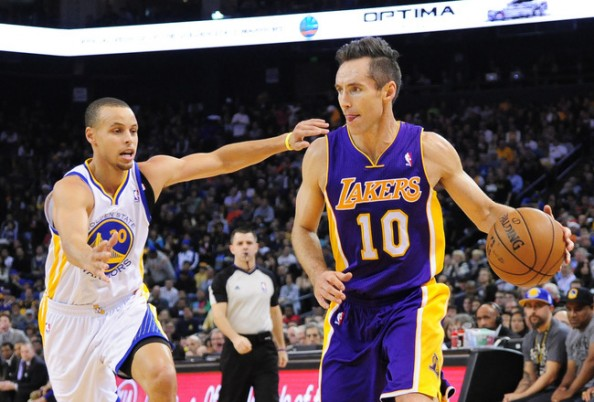 Stephen Curry, Steve Nash