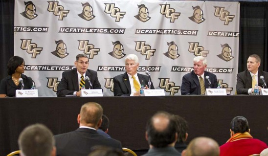 UCF College Football Realignment   Big 12 Thinking About UCF and Cincinnati