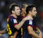 Xavi, Messi