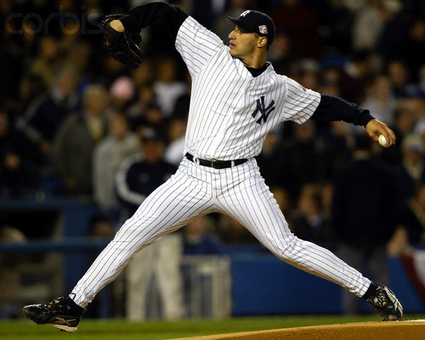 New York Yankees starting pitcher Andy Pettitte throws against the Minnesota Twins