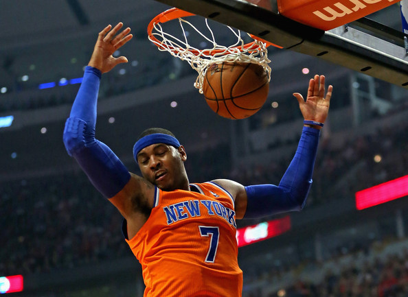 Carmelo Anthony Top 10 Highest Paid NBA Players in the 2013 2014 Season